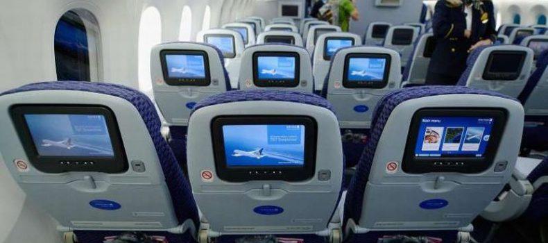 Ramai tak tahu ada kamera terpasang di belakang kerusi penumpang, syarikat penerbangan pun mengakuinya