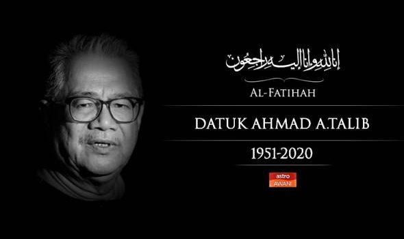 Pemergian Ahmad A. Talib kehilangan besar buat dunia kewartawanan – Muhyiddin