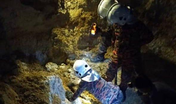 Lelaki maut tertimbus tanah ketika mendulang bijih timah