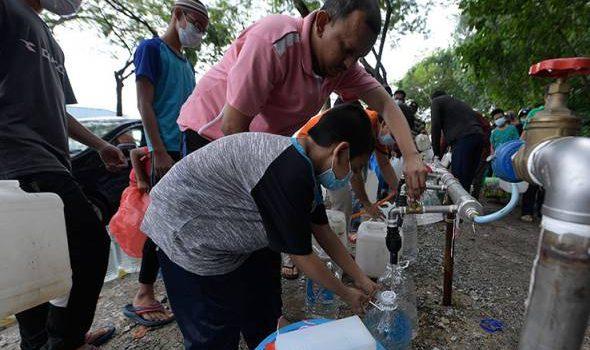 Gangguan air: 948 kawasan pulih sepenuhnya, 344 masih dalam proses pemulihan