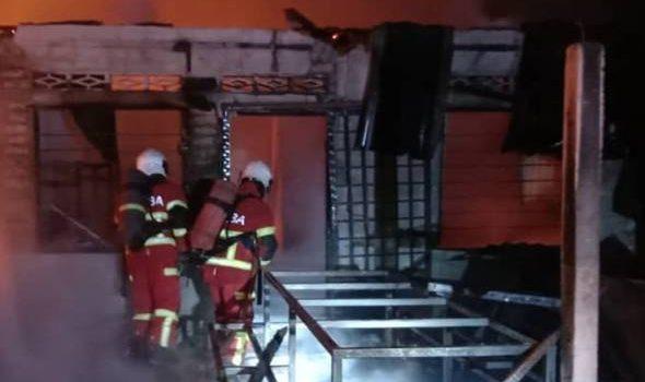 Empat sekeluarga ditemukan rentung dalam kebakaran di Klang