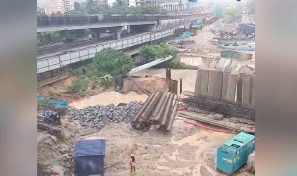 43 kawasan di Wilayah Petaling alami gangguan bekalan air akibat tanah runtuh
